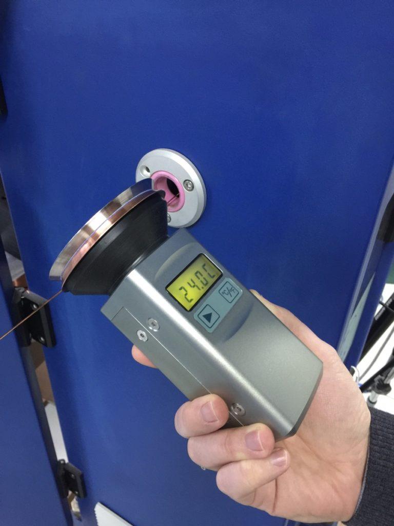 Бесконтактные измерения температуры