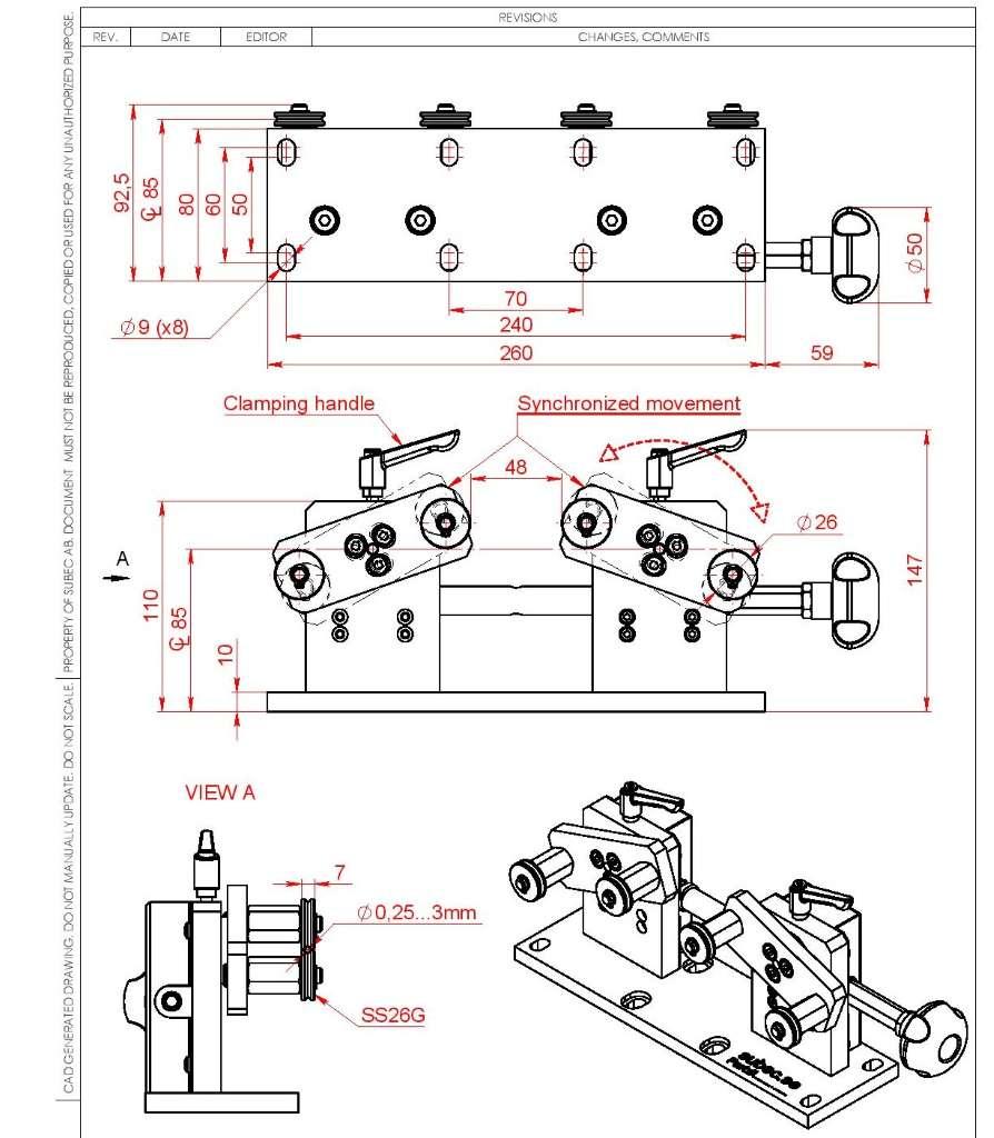 Направляющие-из-стали-для-лазерных-измерителей-длины-и-скорости-SL1220miniW фирмы Протон (Proton)