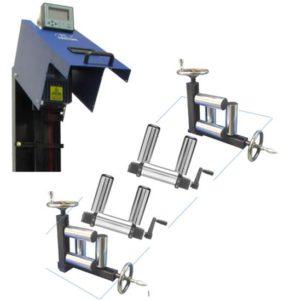 Стандартные комплектация бесконтактных измерителей скорости и длины для производства кабеля и рулонных продуктов на основе эффекта Доплера крепежом, стойками и направляющими
